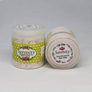 Rose Geranium Bath Salts