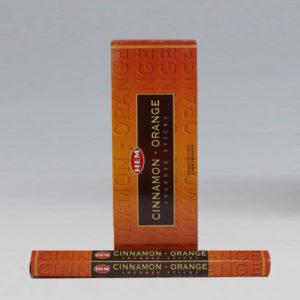Cinnamon-Orange Incense Sticks