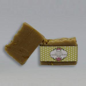Calendula and Orange Soap