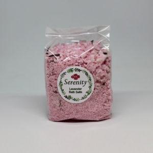 Lavender Bath Salts 500g