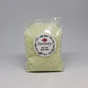 Tea Tree Bath Salts 500g