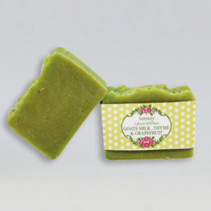 Goats Milk, Thyme and Grapefruit Soap